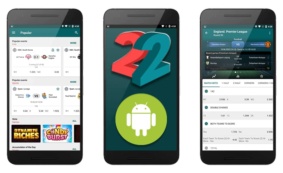 22bet-android